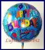 Happy Birthday To You, Jumbo-Folien-Luftballon mit Helium zum Geburtstag
