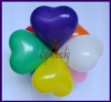 Mini-Herzluftballons, 12-16 cm, Rosa, 100 Stück