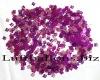 Tischdekoration Geburtstag, Konfetti, Zahl 18, Pink