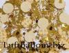 Konfetti Hochzeit, Tischdekoration, Goldene Hochzeit