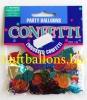 Tischdekoration Geburtstag, Konfetti, Ballons, Bunt