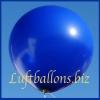 Großer Luftballon, Rund, 48-51 cm, Farbe Dunkelblau