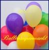 Deko-Luftballons, Standardfarben, Elfenbein, 28-30 cm, 50 Stück