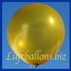 Großer Luftballon, Rund, 48-51 cm, Farbe Gold