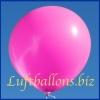 Großer Luftballon, Rund, 48-51 cm, Farbe Pink