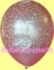 Luftballons Helium Set, Miniflasche, Latex-Luftballons mit der Zahl 25