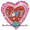 Musikballon, Luftballon mit Musikmodul, Love, Still the One