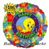 Musikballon, Luftballon mit Musikmodul, Tweety Happy Birthday
