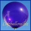 Großer Luftballon, Rund, 48-51 cm, Farbe Violett