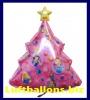 Luftballon Weihnachten, Weihnachtsbaum Princess