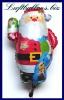 Luftballon Weihnachten, Merry Christmas Weihnachtsmann
