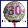 Luftballon Balloons Birthday, Geburtstag 30