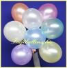 Deko-Luftballons, Perlmuttfarben, Gelb, 75/85 cm, 100 Stück, Serie 2