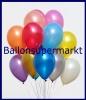 Deko-Luftballons, Metallicfarben, Gold, 28-30 cm, 100 Stück