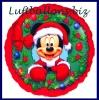 Weihnachts-Luftballon, Micky Maus als Weihnachtsmann