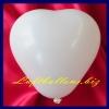 Mini-Herzluftballons, 8-12 cm, Weiß, 100 Stück