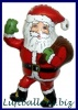 Weihnachts-Luftballon Nikolaus