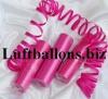 Luftschlangen Pink, 1 Rolle