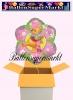 Puuh Bär Luftballon mit Helium, Kindergeburtstag u. Geschenk