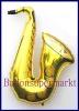 Saxophon, Deko-Luftballon aus Folie
