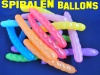 Spiralen-Luftballons, 100 Stück