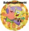 Spongebob Schwammkopf Lluftballons mit Helium, Kindergeburtstag Geschenke, 6 Stück
