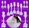 Traumhafte Ballondekoration Hochzeit mit Joined Hearts Bubble