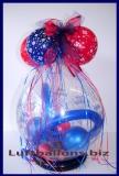 Verpackungsballon, Geschenkballon zum 18. Geburtstag
