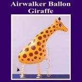 Giraffe, Airwalker Tier-Luftballon