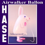 Hase, Airwalker Tier-Luftballon