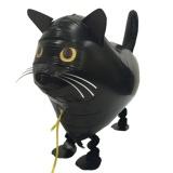 Katze, schwarz, Airwalker Tier-Luftballon