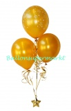 Ballon-Bukett-Silvester, Tischdekoration aus Luftballons 01