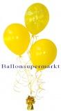 Ballon-Bukett-Silvester, Tischdekoration aus Luftballons 02