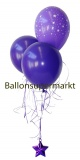 Ballon-Bukett-Silvester, Tischdekoration aus Luftballons 04