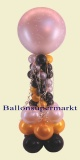 Ballondekoration Hochzeit mit dem Just Married Riesenballon