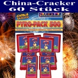 60 Chinakracher, China-Böller, Pyro-Pack 500
