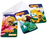 Einladungskarten mit Umschlag Biene Maja, 6 Stück