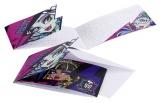 Einladungskarten mit Umschlag Monster High, 6 Stück