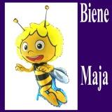 Luftballon, Biene Maje, Shape, Kindergeburtstag u. Geschenk