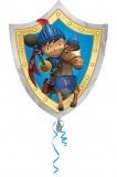 Luftballon, Mike der Ritter, Shape, Kindergeburtstag u. Geschenk