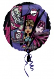 Monster High, Folien-Luftballon mit Helium