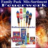 Feuerwerk, Family-Pack, Familien-Sortiment-Feuerwerksartikel