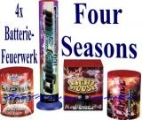 Batteriefeuerwerk, Sortiment 4 Jahreszeiten