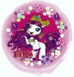 Eiskönigin Holo Luftballon mit Helium, Kindergeburtstag u. Geschenk
