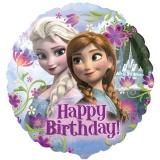 Die Eiskönigin, Happy birthday Luftballon mit Helium, Kindergeburtstag u. Geschenk