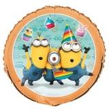 Minion Party, Folien-Luftballon mit Helium