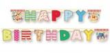 Geburtstagsgirlande Winnie the Pooh, Happy Birthday Girlande Pu Bär