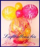 Geschenkballon, Ballon zum Verpacken von Geschenken zum Geburtstag