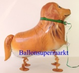 Golden Retriever, Airwalker Tier-Luftballon