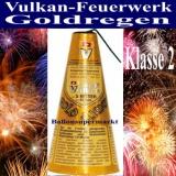 Goldregen Vulkanfeuerwerk